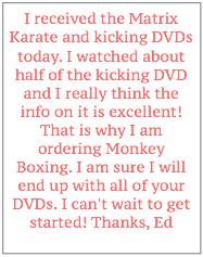 martial arts testimmony