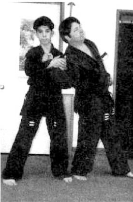 karate takedown