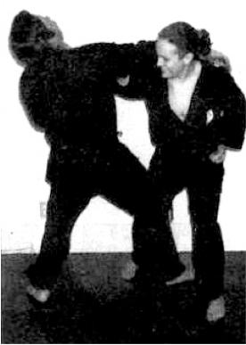 karate toss
