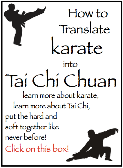 karate to tai chi chuan