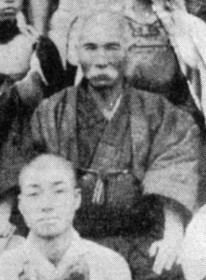 Was Ankoh Itosu the real master? Or could it have been somebody like the fellow in front of him?